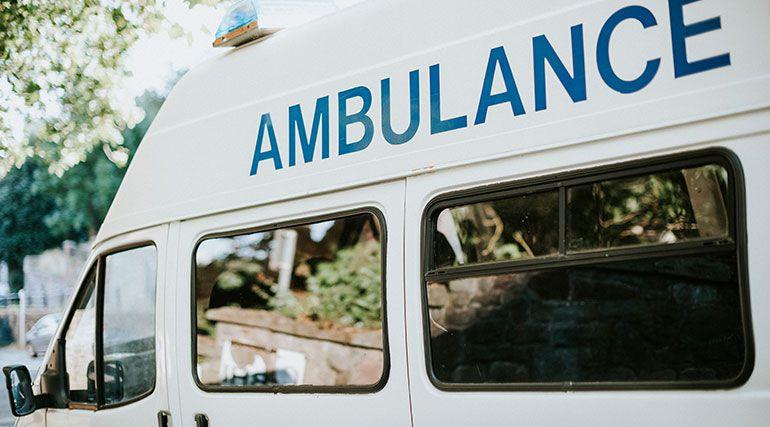Mahavir Hospital Ambulance
